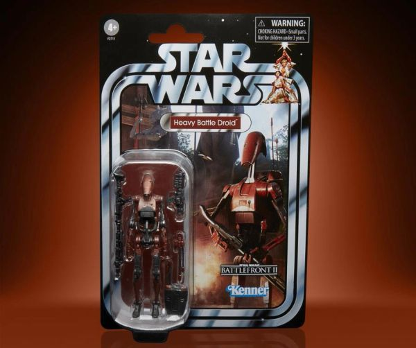 Star Wars: The Vintage Collection Heavy Battle Droid Action Figure