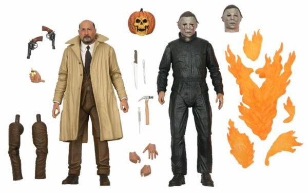 *PRE-SALE* Halloween 2 Ultimate Dr. Loomis & Michael Myers Action Figure Two-Pack