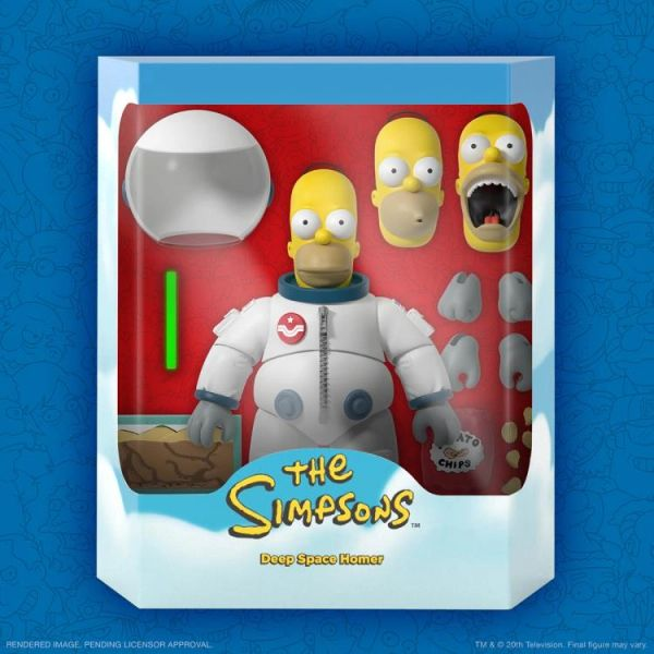 *PRE-SALE* The Simpsons Ultimates Series 1 Deep Space Homer Action Figure