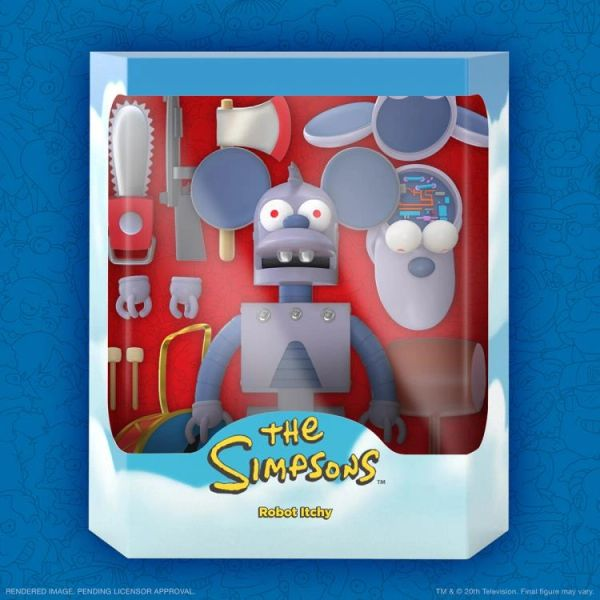 *PRE-SALE* The Simpsons Ultimates Series 1 Robot Itchy Action Figure