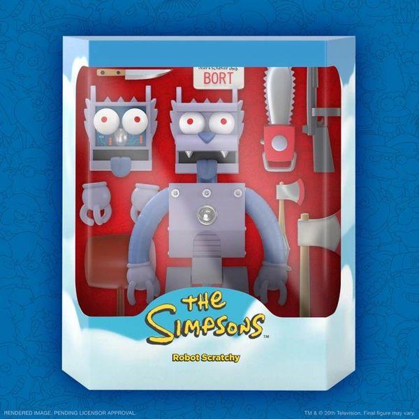*PRE-SALE* The Simpsons Ultimates Series 1 Robot Scratchy Action Figure