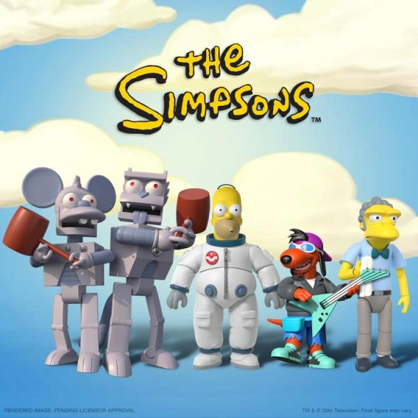 *PRE-SALE* The Simpsons Ultimates Wave 1 Set of 5 Figures