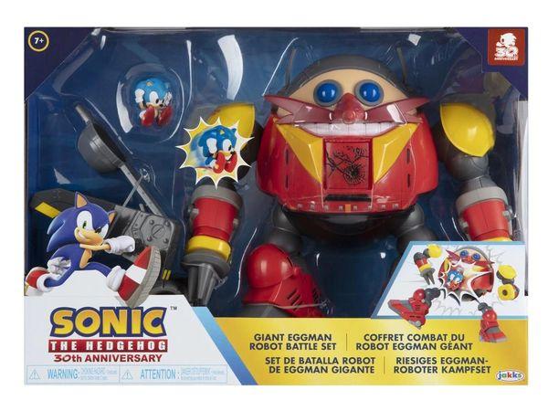 Sonic The Hedgehog 30th Anniversary Eggman Battle Set
