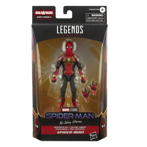 *PRE-SALE* Marvel Legends Spider-Man: No Way Home Integrated Suit Spider-Man (Marvel's Armadillo BAF) Action Figure