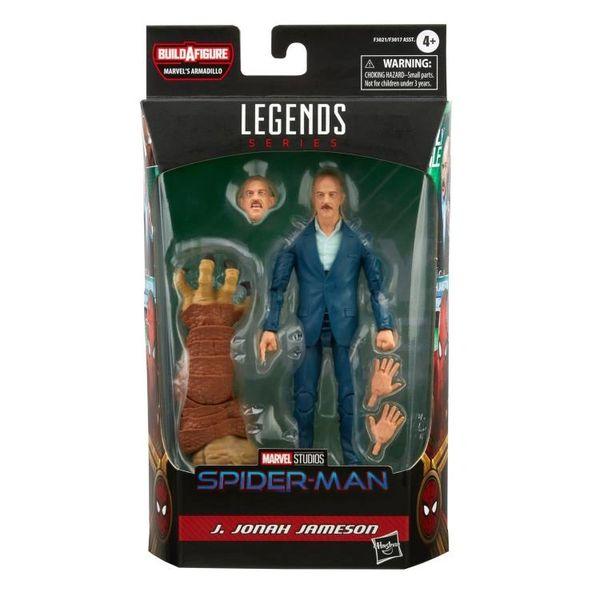 *PRE-SALE* Marvel Legends Spider-Man No Way Home J. Jonah Jameson (Marvel's Armadillo BAF) Action Figure