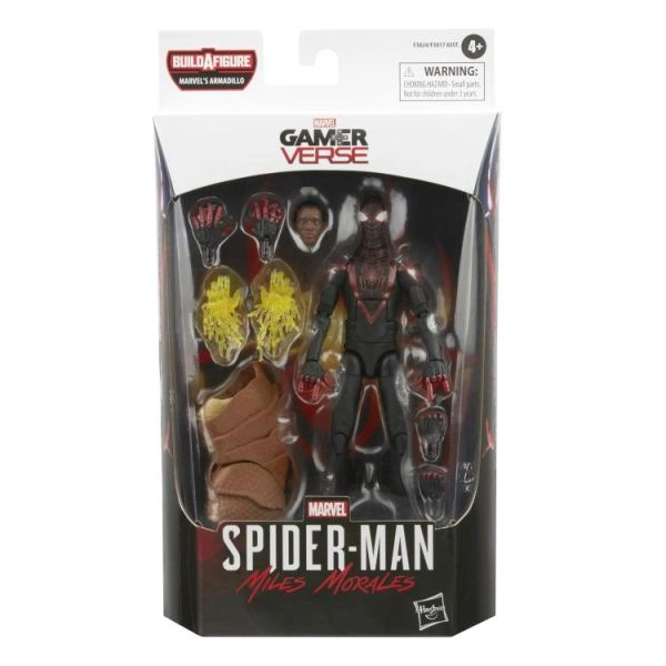 *PRE-SALE* Marvel Legends Spider-Man Miles Morales (Marvel's Armadillo BAF) Action Figure