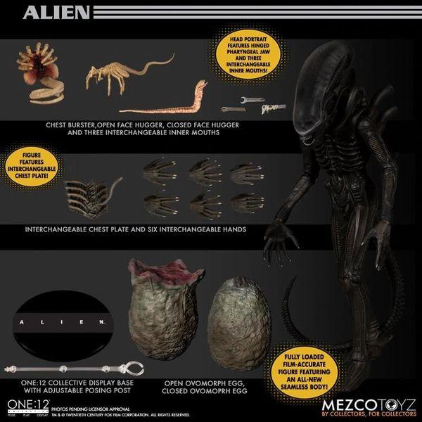 *PRE-SALE* Alien One:12 Collective Alien Xenomorph Action Figure