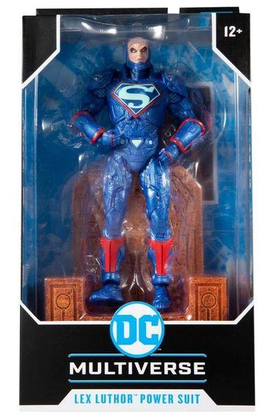 *PRE-SALE* Justice League: The Darkseid War DC Multiverse Lex Luthor Power Suit (Blue) Action Figure