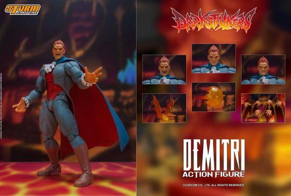 *PRE-SALE* Storm Collectibles Darkstalkers Demitri Maximoff 1/12 Scale Figure