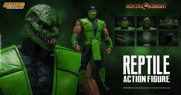 *PRE-SALE* Storm Collectibles Mortal Kombat Reptile 1/12 Scale Action Figure
