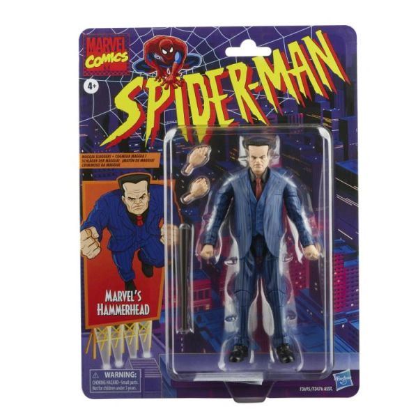 *PRE-SALE* Marvel Legends Spider-Man Retro Collection Hammerhead Action Figure
