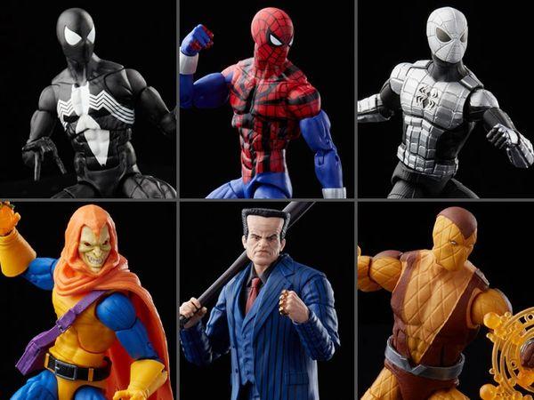 *PRE-SALE* Spider-Man Marvel Legends Retro Collection Wave 2 Set of 6 Figures