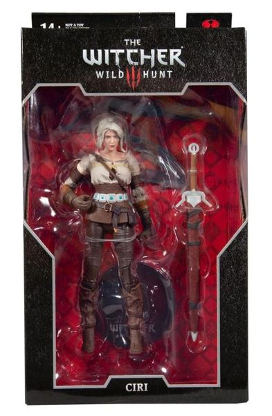 The Witcher 3: Wild Hunt Ciri Action Figure