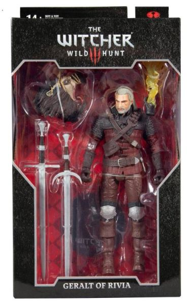 The Witcher 3: Wild Hunt Geralt of Rivia (Wolf Armor) Action Figure