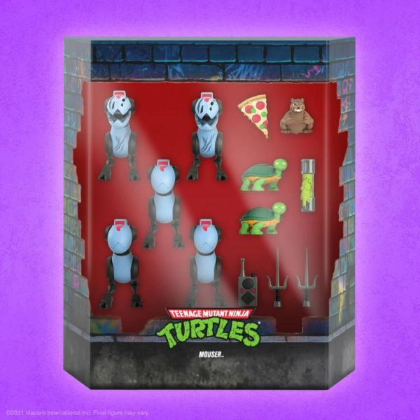 *PRE-SALE* TMNT Ultimates Mousers Five-Pack