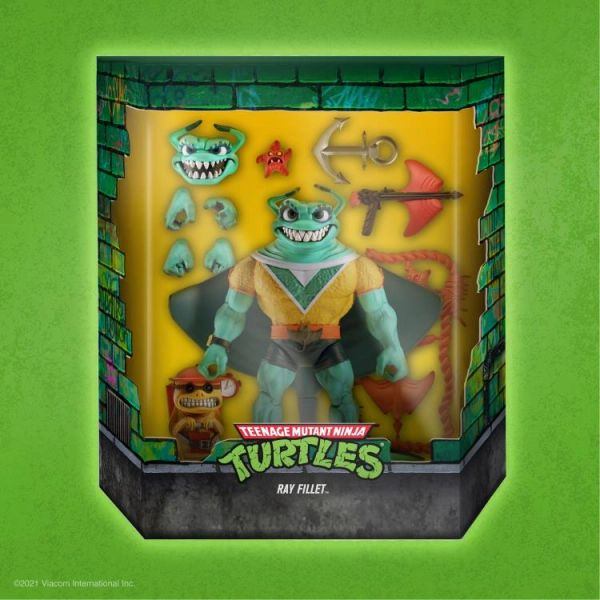 *PRE-SALE* TMNT Ultimates Ray Fillet Action Figure