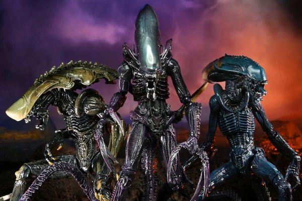 *PRE-SALE* Alien vs. Predator Aliens Set of 3 Figures