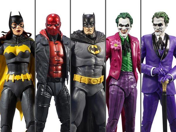*PRE-SALE* DC Multiverse Batman: Three Jokers Wave 1 Set of 5 Figures