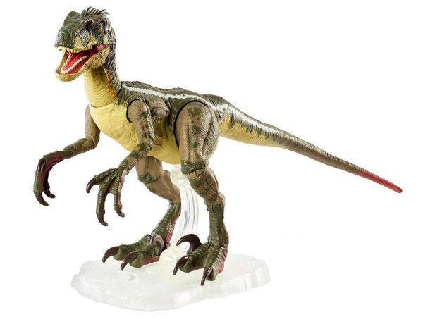 Jurassic Park III Amber Collection Velociraptor (Male) Action Figure