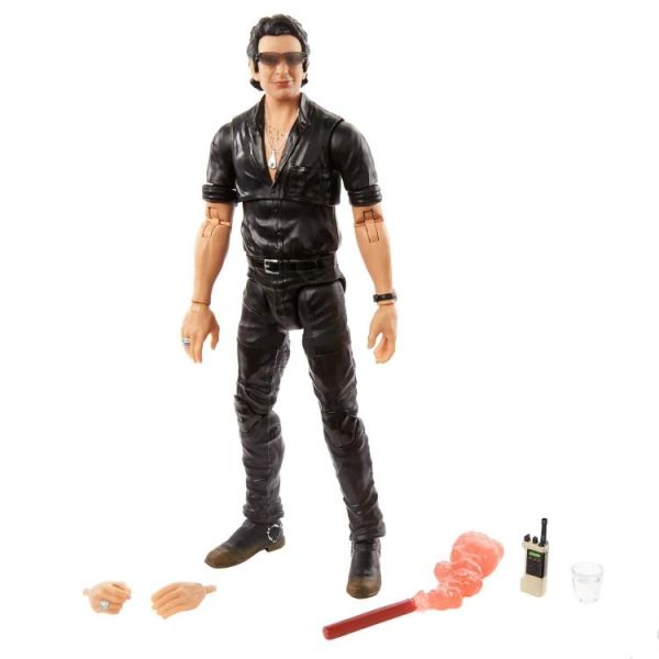Jurassic Park Amber Collection Ian Malcolm Action Figure