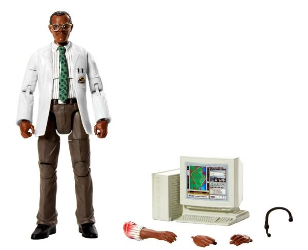 Jurassic Park Amber Collection Ray Arnold Action Figure