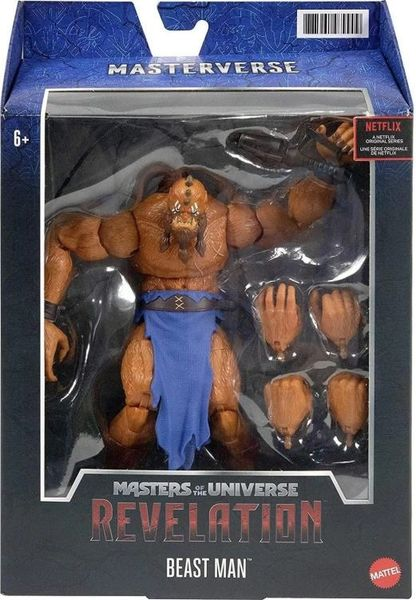 *PRE-SALE* Masters of the Universe: Revelation Beast Man Action Figure