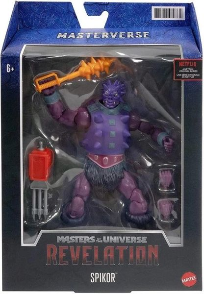 *PRE-SALE* Masters of the Universe: Revelation Spikor Action Figure