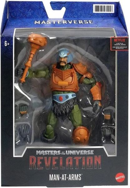 *PRE-SALE* Masters of the Universe: Revelation Man-At-Arms Action Figure