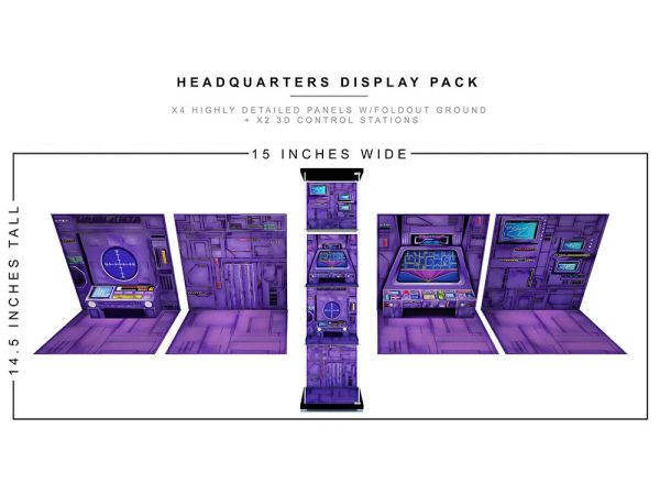 *PRE-SALE* Extreme Sets Headquarters 1/12 Scale Display Pack