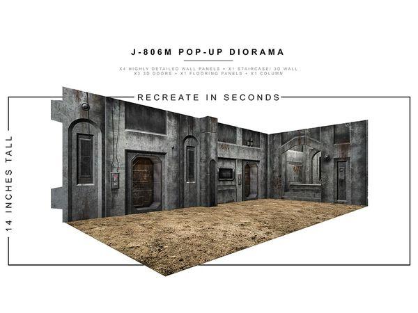 *PRE-SALE* Extreme Sets J-806M 1/12 Scale Pop-Up Diorama
