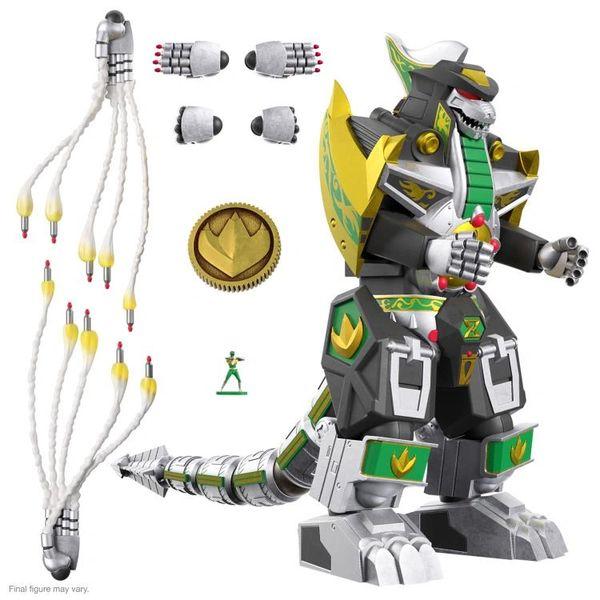 *PRE-SALE* Mighty Morphin Power Rangers Ultimates Dragonzord Figure