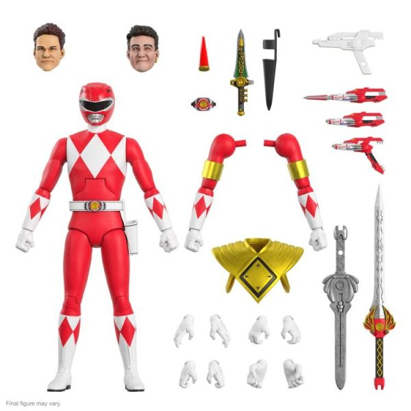 *PRE-SALE* Mighty Morphin Power Rangers Ultimates Wave 2 Red Ranger Action Figure