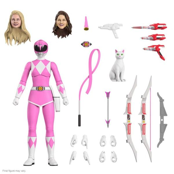 *PRE-SALE* Mighty Morphin Power Rangers Ultimates Wave 2 Pink Ranger Action Figure