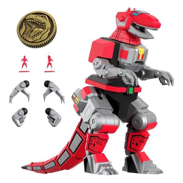*PRE-SALE* Mighty Morphin Power Rangers Ultimates Wave 1 Tyrannosaurus Dinozord Action Figure