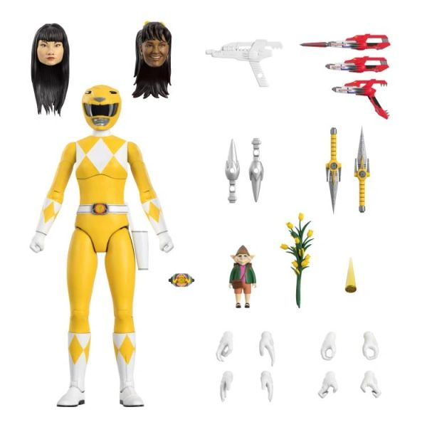 *PRE-SALE* Mighty Morphin Power Rangers Ultimates Wave 1 Ultimate Yellow Ranger Action Figure