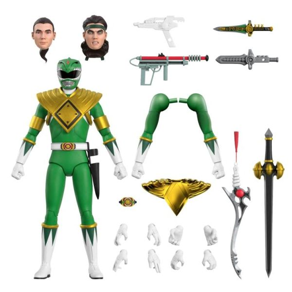 *PRE-SALE* Mighty Morphin Power Rangers Ultimates Wave 1 Ultimate Green Ranger Action Figure