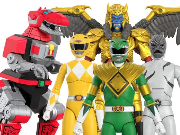 *PRE-SALE* Mighty Morphin Power Rangers Ultimates Wave 1 Set of 5 Figures