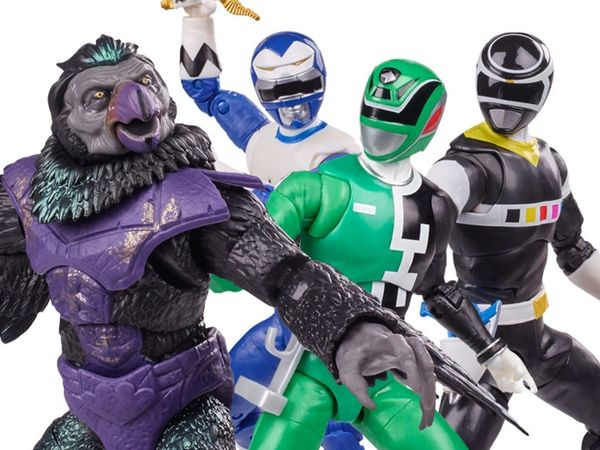 Mighty Morphin Power Rangers Lightning Collection Wave 9 Set of 4 Action Figures
