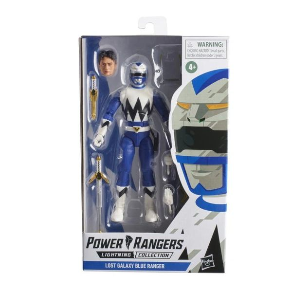Mighty Morphin Power Rangers Lightning Collection Wave 9 Lost Galaxy Blue Ranger Action Figure