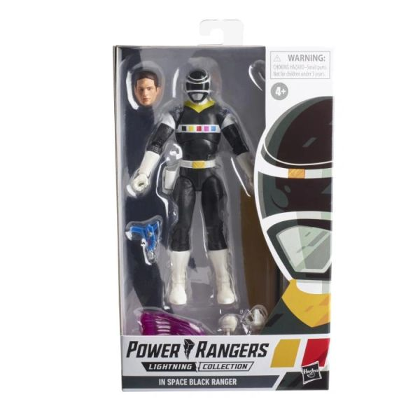 Power Rangers In Space Lightning Collection Wave 9 Black Ranger Action Figure