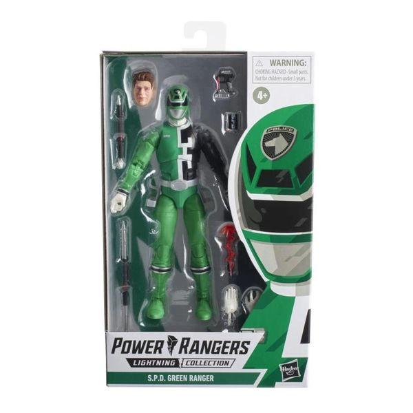Power Rangers S.P.D. Lightning Collection Wave 9 Green Ranger Action Figure