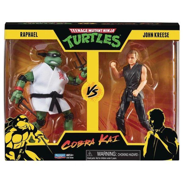 *PRE-SALE* TMNT x Cobra Kai Raphael vs. John Kreese Two-Pack