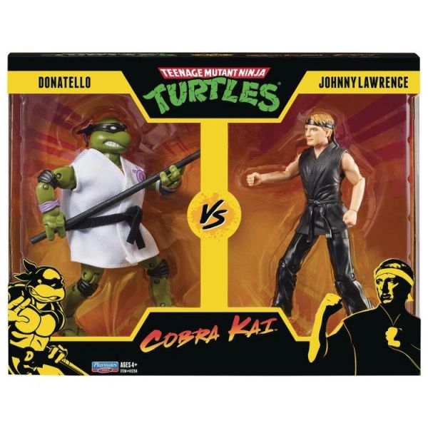 *PRE-SALE* TMNT x Cobra Kai Donatello vs. Johnny Lawrence Action Figure Two-Pack