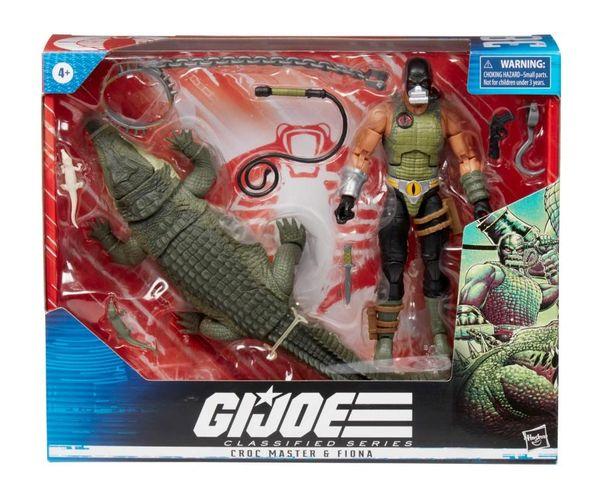 *PRE-SALE* G.I. Joe Classified Series Croc Master & Fiona Action Figure Set