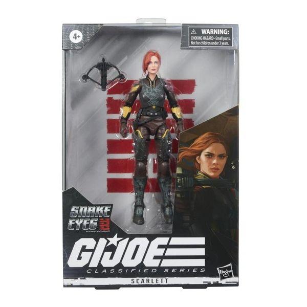 *PRE-SALE* Snake Eyes: G.I. Joe Origins Classified Series Scarlett Action Figure