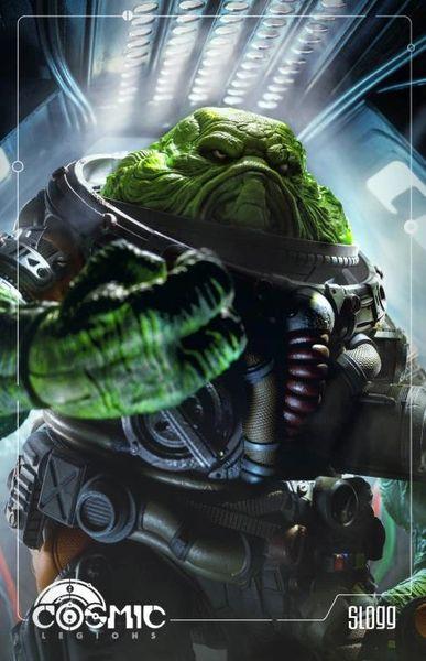 *PRE-SALE* Cosmic Legions Slogg Deluxe Action Figure
