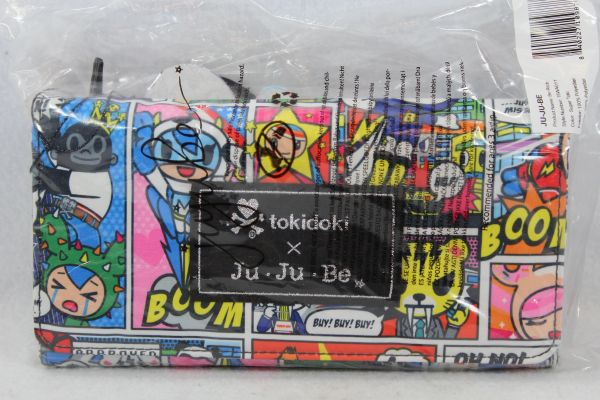 Ju-Ju-Be x Tokidoki Be Rich Wallet in Super Toki PLACEMENT A