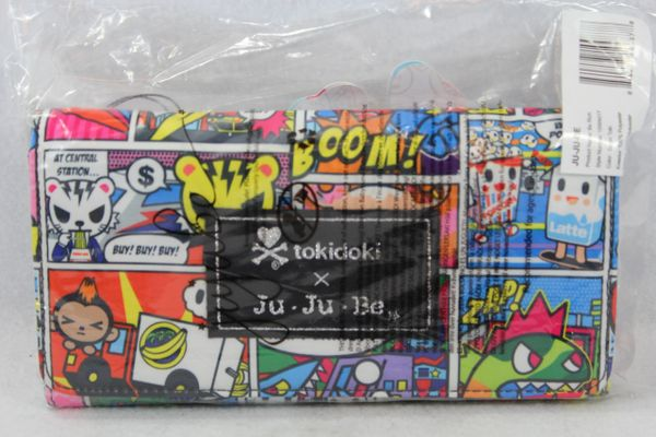 Ju-Ju-Be x Tokidoki Be Rich Wallet in Super Toki PLACEMENT C