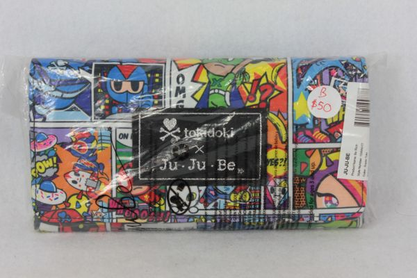 Ju-Ju-Be x Tokidoki Be Rich Wallet in Super Toki PLACEMENT B