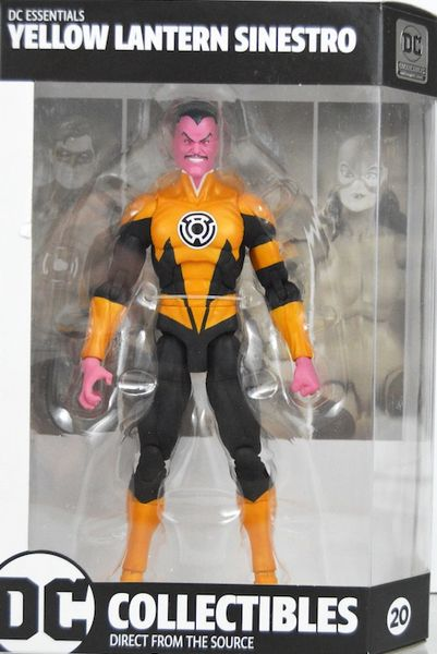 DC Essentials Sinestro Action Figure